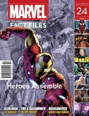 Marvel Fact Files #24 Eaglemoss Publications